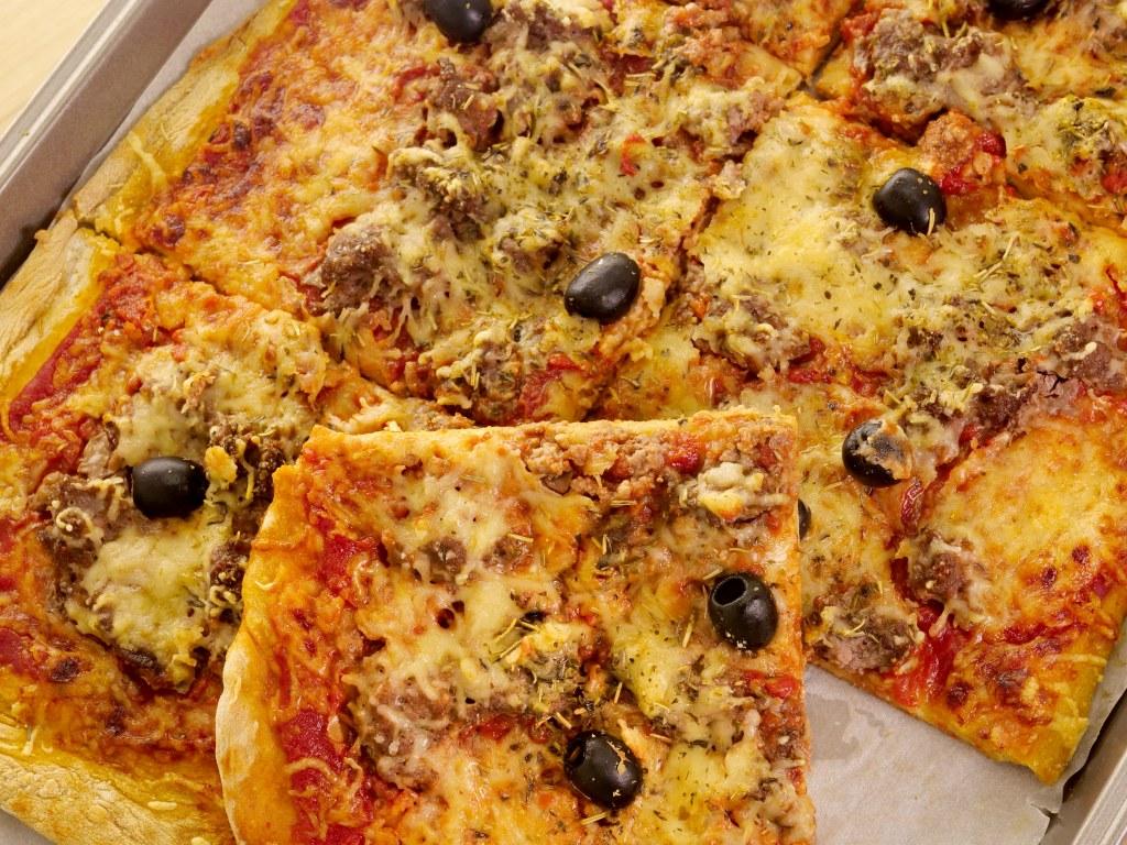 cuisson pizza maison