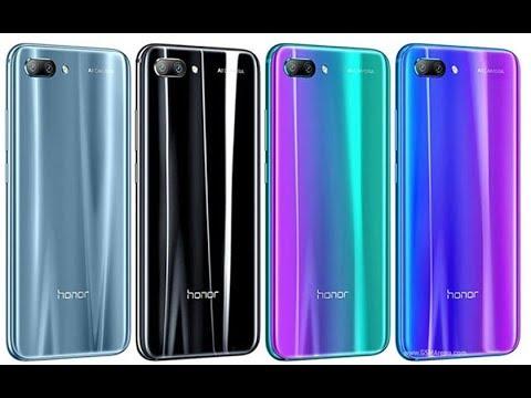 honor 10 bleu