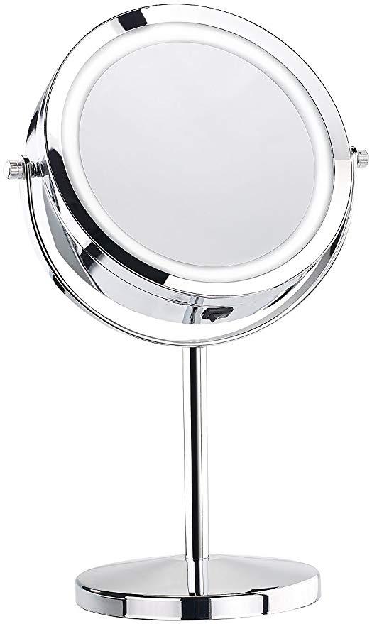 miroir grossissant lumineux