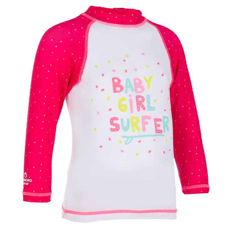 tee shirt anti uv bébé
