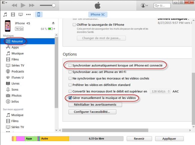 transferer photo iphone vers pc