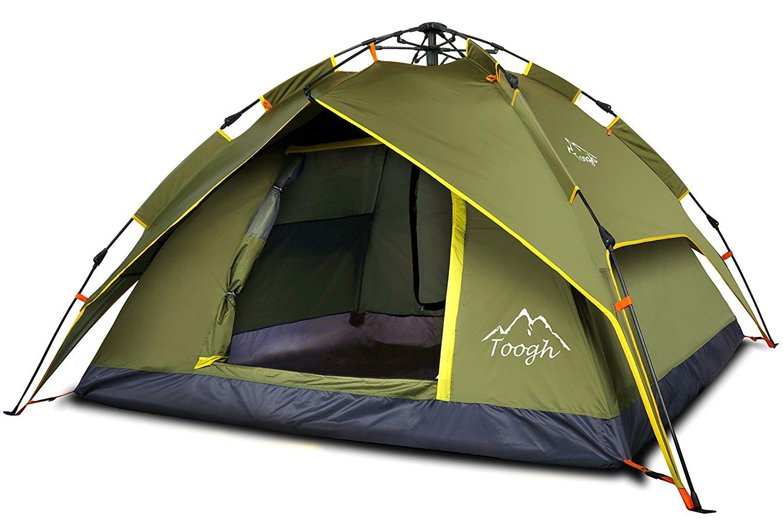 une tente de camping