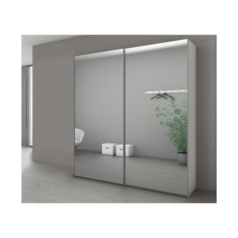 armoire porte miroir