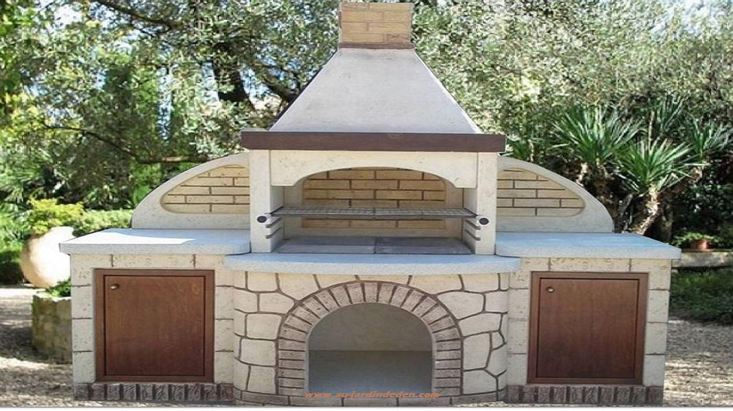 barbecue en pierre