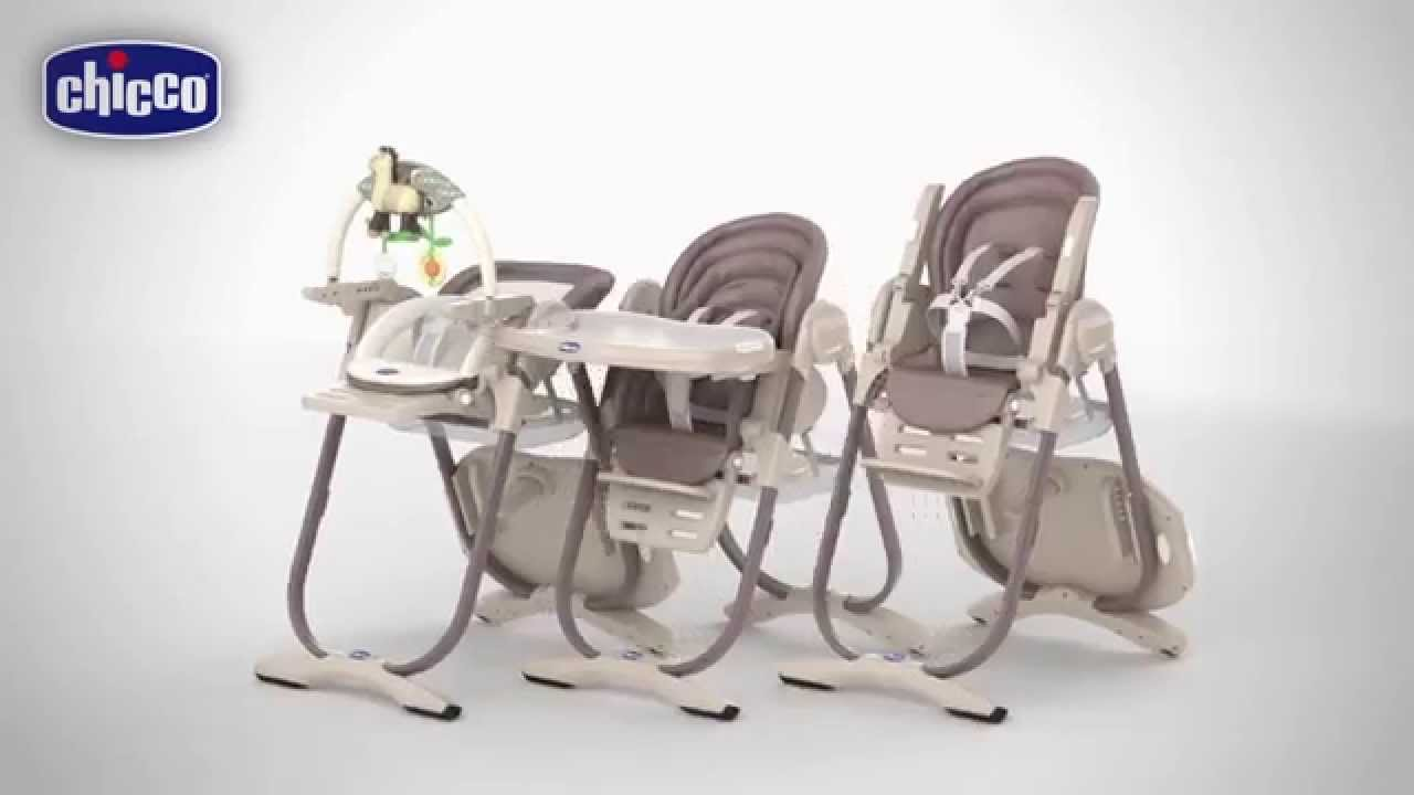 chaise haute chicco polly magic