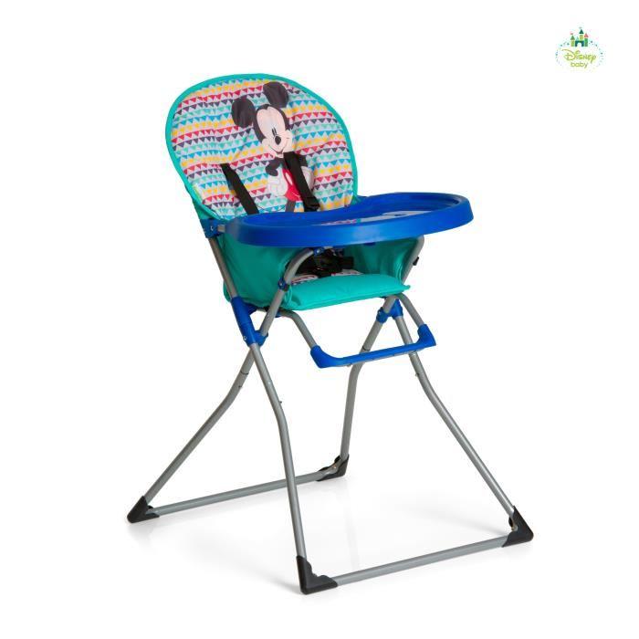 chaise haute mickey