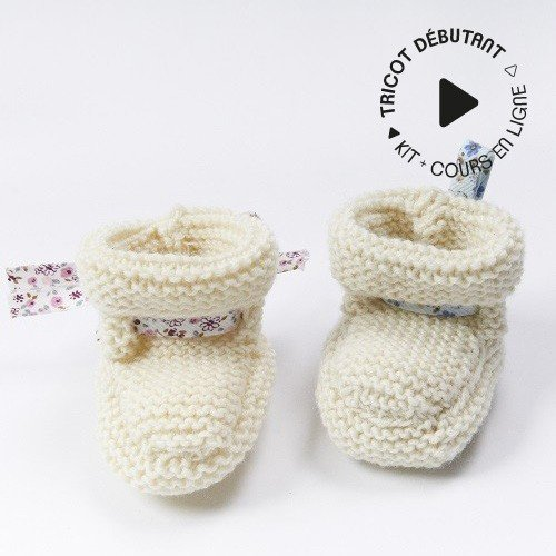 chaussons bébé naissance