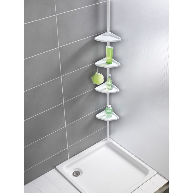 etagere angle salle de bain