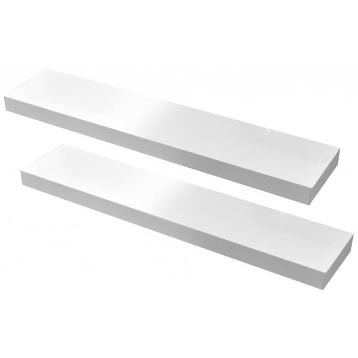 etagere blanc laque