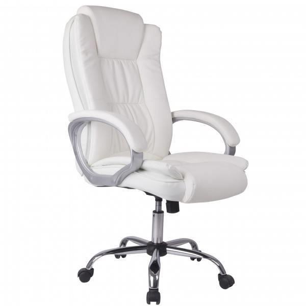 fauteuil de bureau blanc