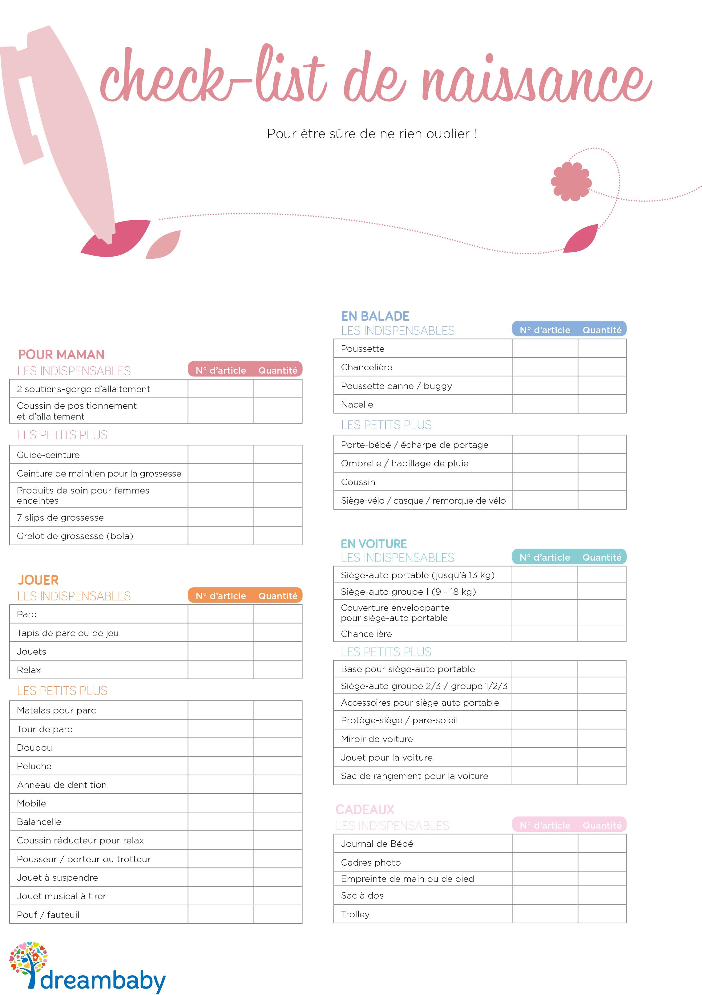 liste naissance