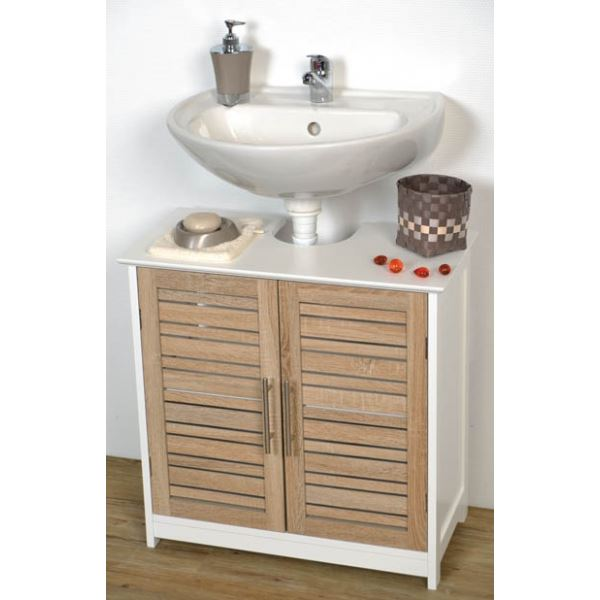 meuble sous evier salle de bain