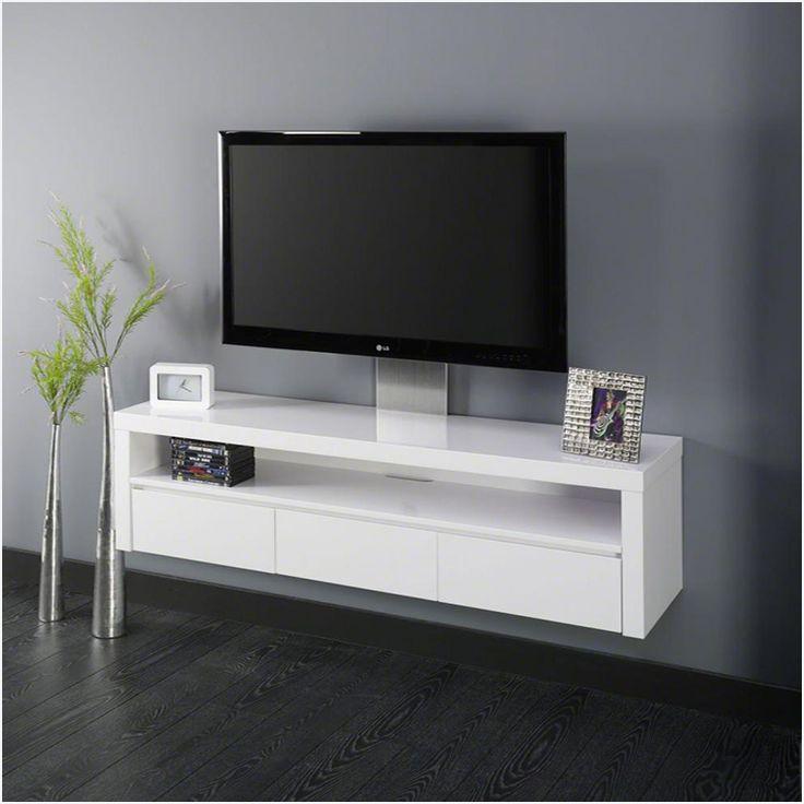 meuble tv faible profondeur