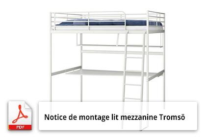 montage lit mezzanine