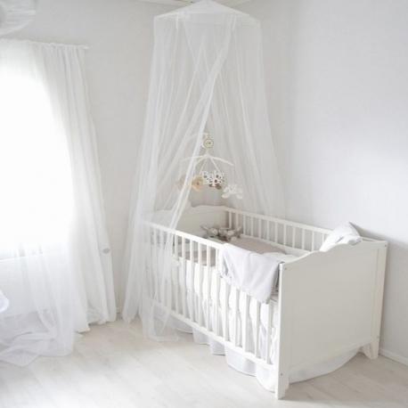 moustiquaire ciel de lit bébé