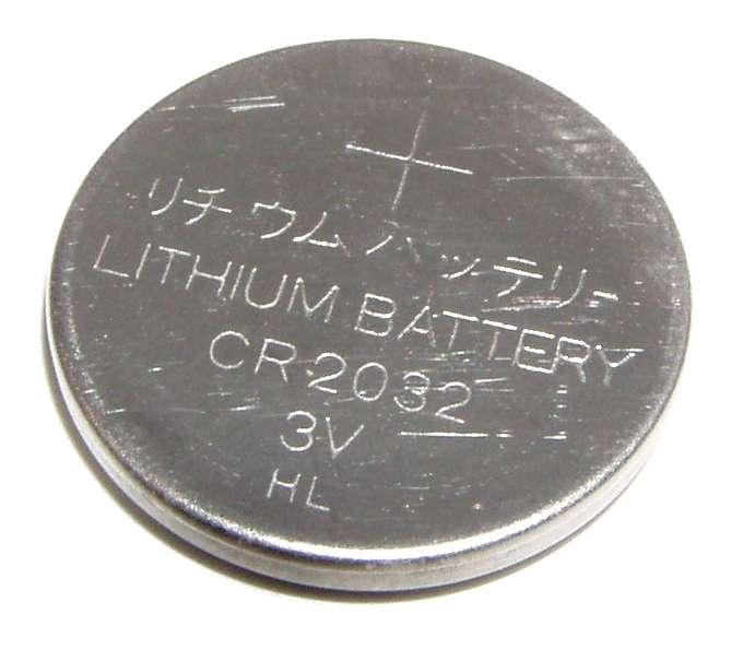pile bouton