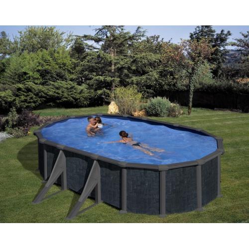 piscine hors sol metal