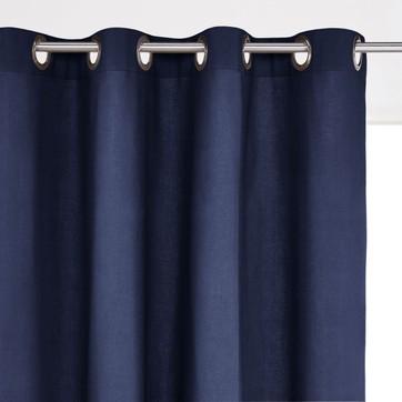 rideau bleu marine