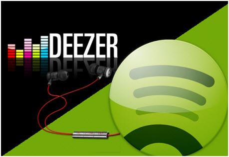 spotify ou deezer
