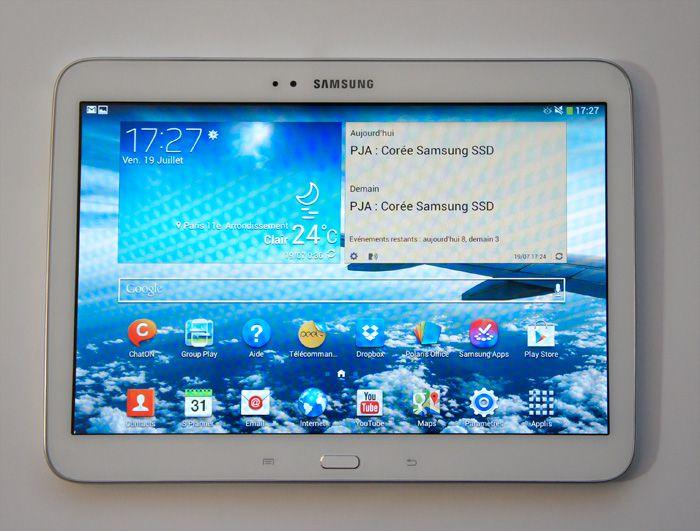 tablette samsung 10 pouces