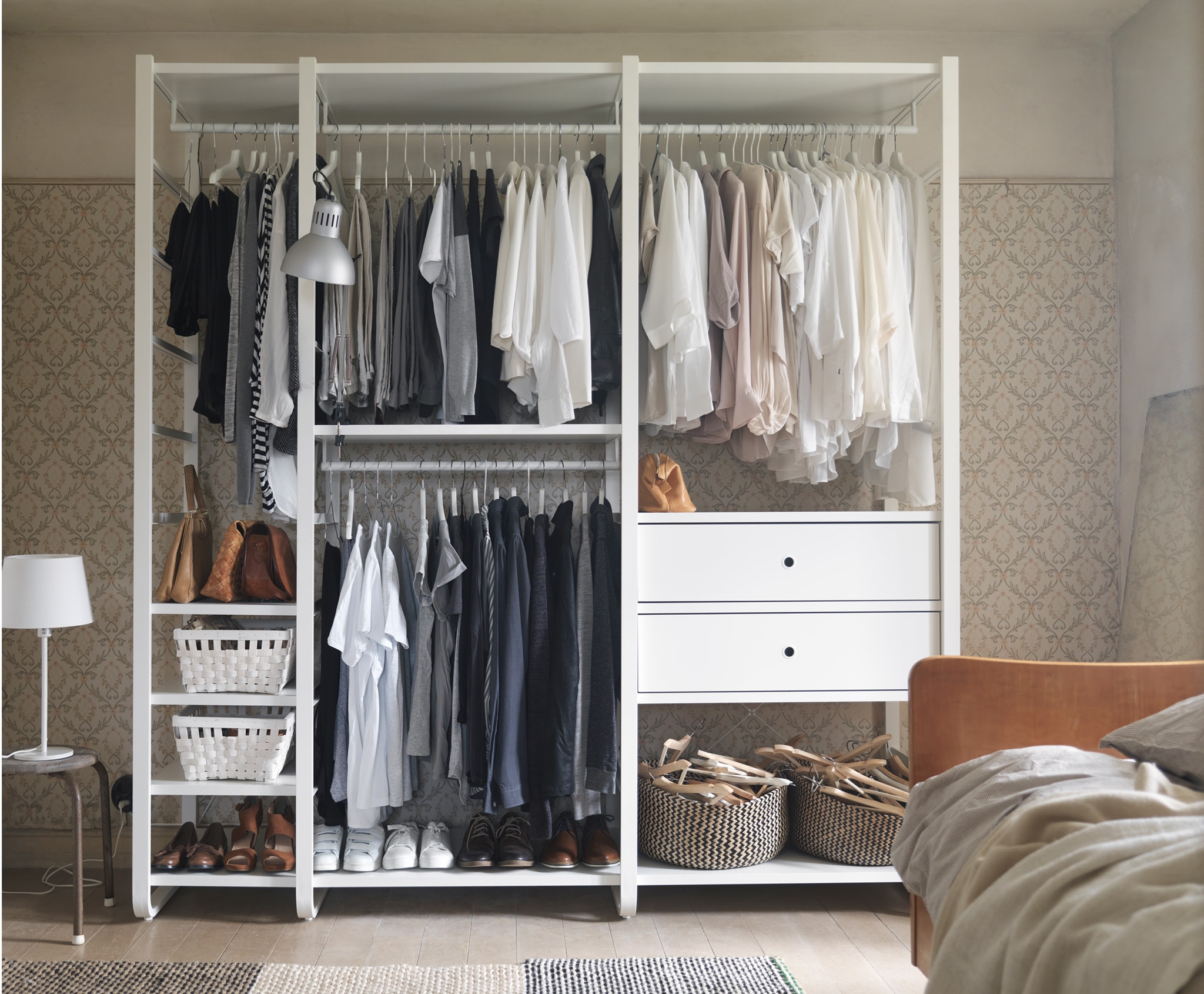 wardrobe shelving systems