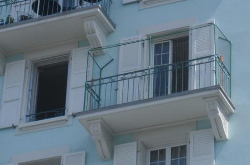 barre télescopique balcon