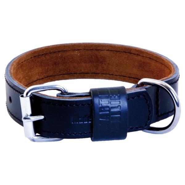 collier cuir chien