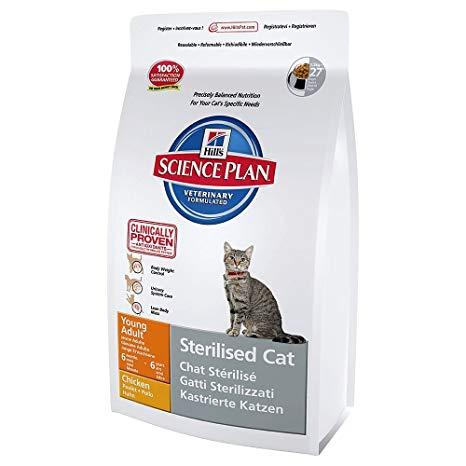 croquette hill's chat stérilisé