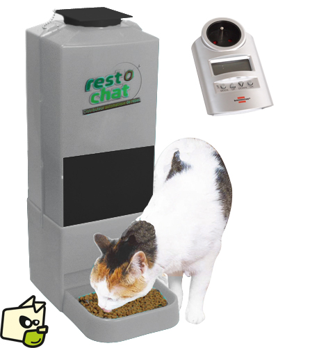 distributeur automatique croquettes chat
