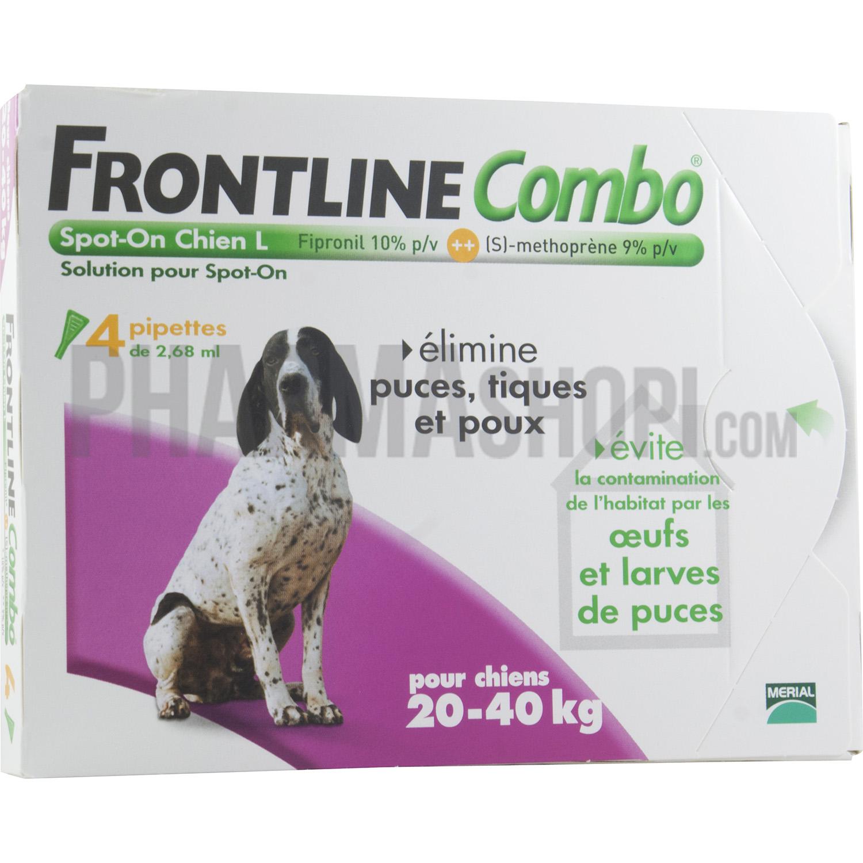 frontline chien 20 40 kg