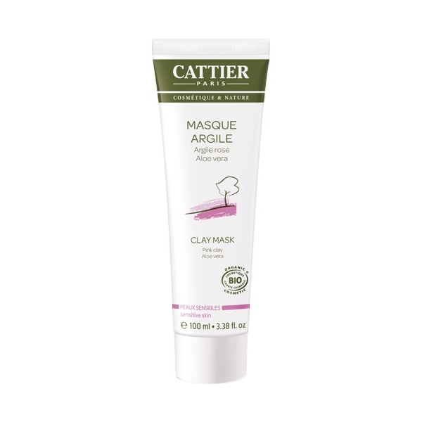 masque argile rose