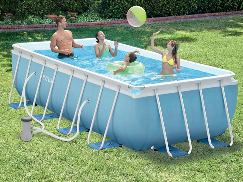 piscine rectangulaire intex