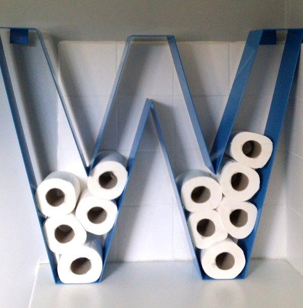 porte papier toilette original