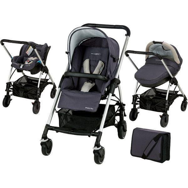 poussette trio streety bébé confort