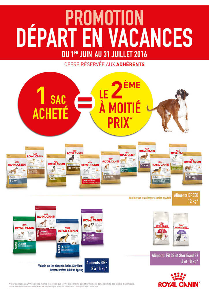 promo royal canin