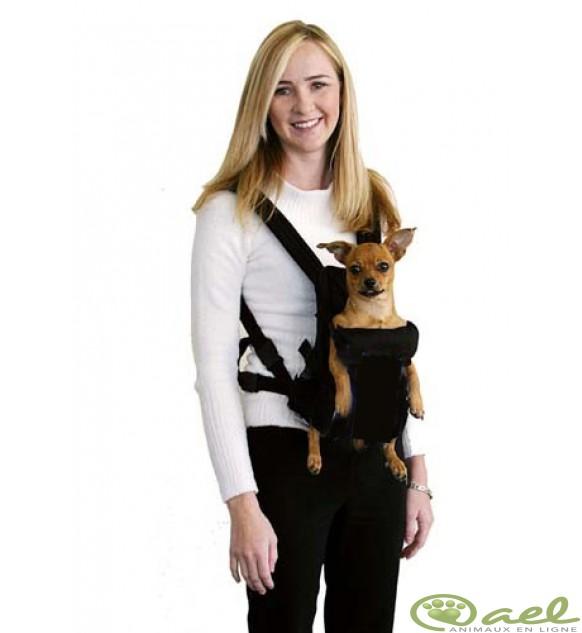 sac ventral pour chien
