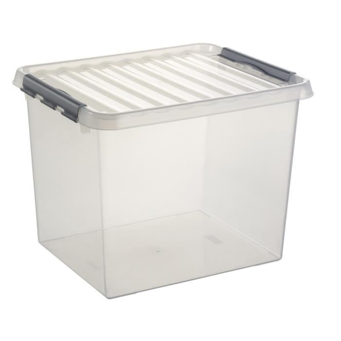 caisse plastique rangement