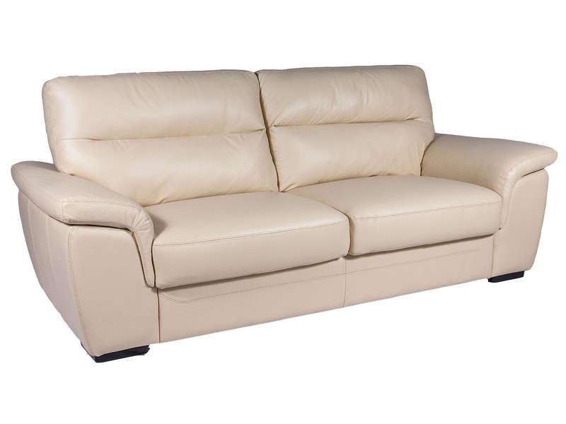 canapé 3 places beige