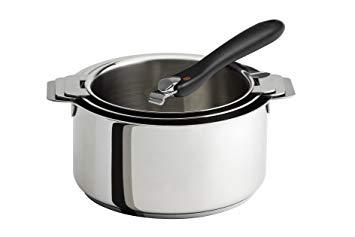 casserole poignée amovible