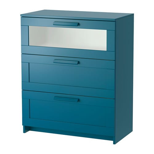 commode bleu canard