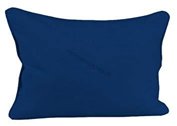 coussin bleu marine