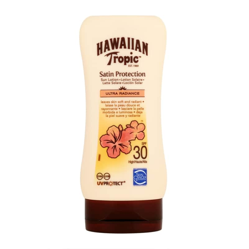 creme solaire hawaiian