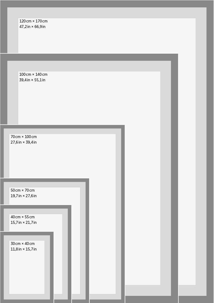 dimension cadre photo
