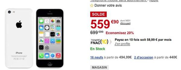 iphone en solde