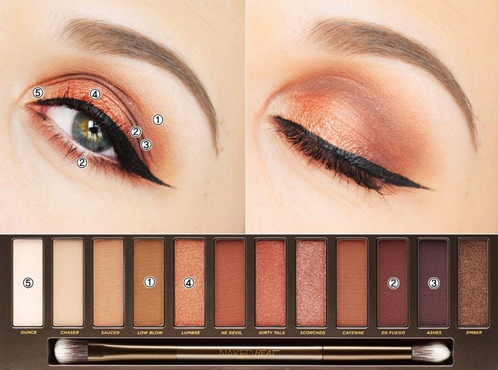 maquillage naked eyes