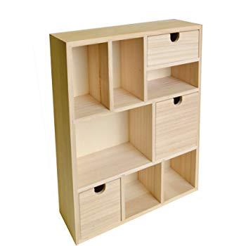 meuble casier bois