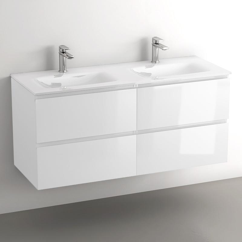 meuble double vasque 120 cm