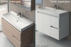 meuble salle de bain 100