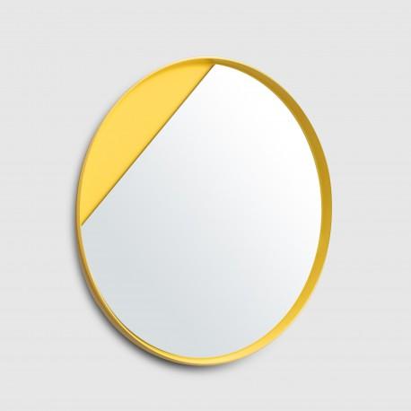 miroir jaune