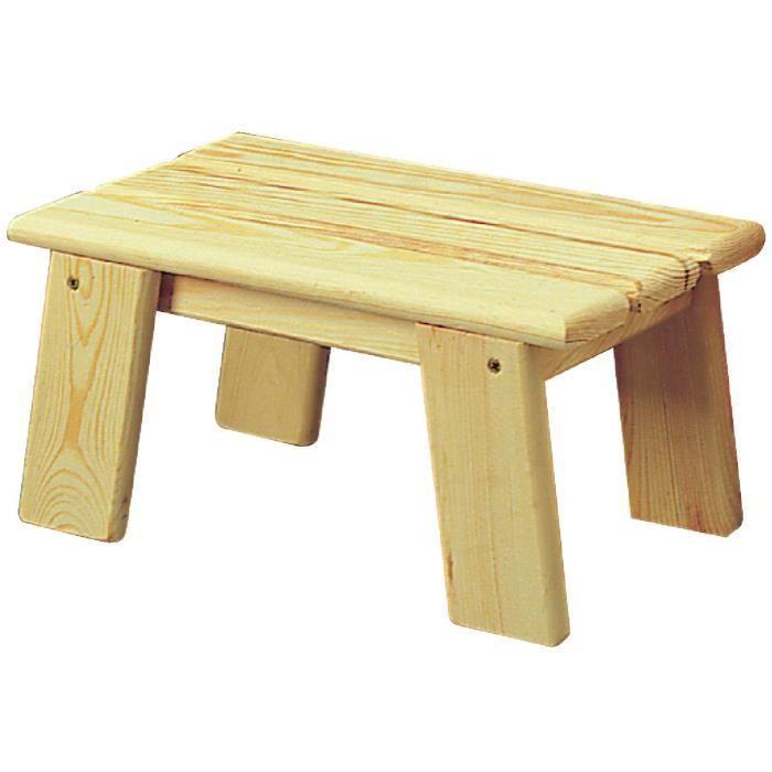 petit banc en bois